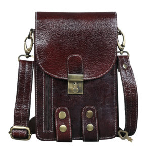 Multi purpose leather pouch
